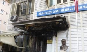 Τουρκία: Εμπρησμός σε γκαλερί στην Κωνσταντινούπολη (vid)
