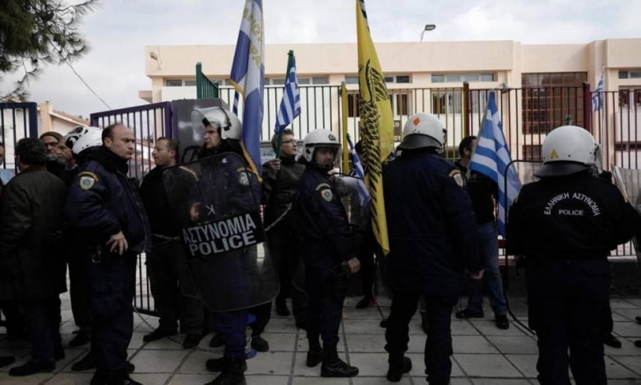 Σύλληψη 25χρονου για τα επεισόδια στο Ωραιόκαστρο