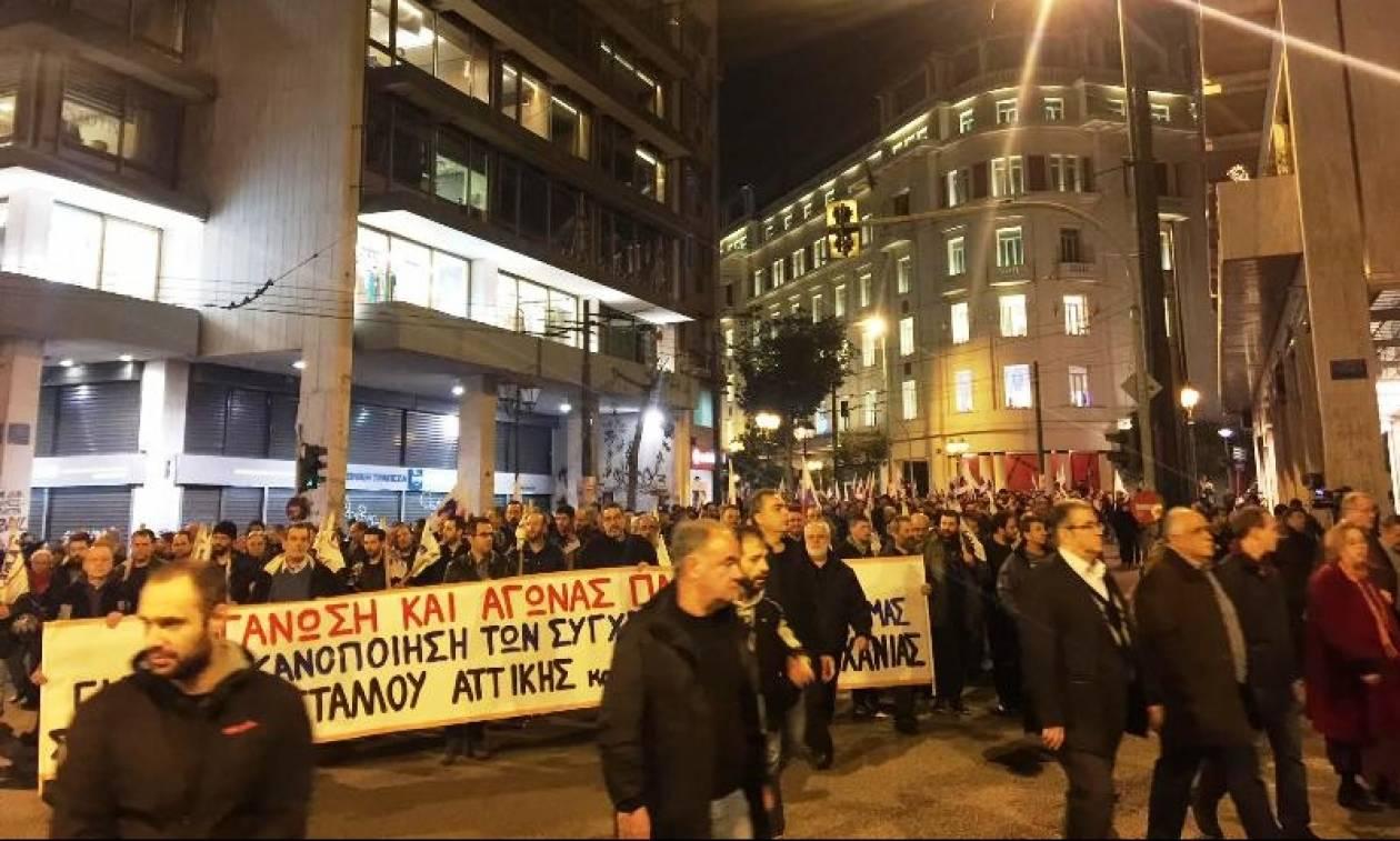 Συλλαλητήρια του ΠΑΜΕ κατά των αποτελεσμάτων του Eurogroup (pics&vid)