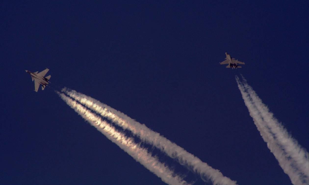 Πήρε «φωτιά» το Αιγαίο: Εικονική αερομαχία ελληνικών και τουρκικών μαχητικών