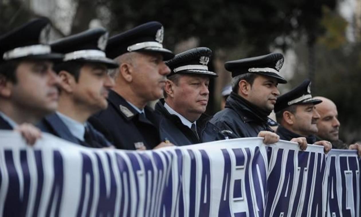 Διαδήλωση αστυνομικών την Τετάρτη στο Σύνταγμα