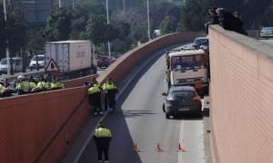 Ισπανία: Καταδίωξη φορτηγού γεμάτο με φιάλες βουτανίου