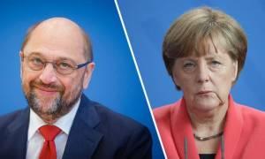 Η απόλυτη ανατροπή: «Καλπάζει» σταθερά στις δημοσκοπήσεις ο Μάρτιν Σουλτς έναντι της Μέρκελ