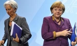 Μέρκελ - Λαγκάρντ: Αποφασίζουν για την Ελλάδα χωρίς την Ελλάδα