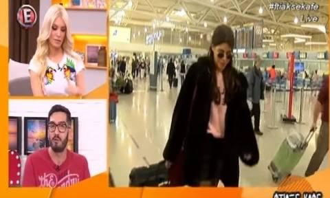 Eurovision: Περιπέτεια για την Demy στο ταξίδι της με προορισμό την Οδησσό