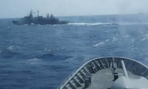 Μυρίζει μπαρούτι στα Ίμια: «Ναυμαχία» ελληνικών και τουρκικών πλοίων