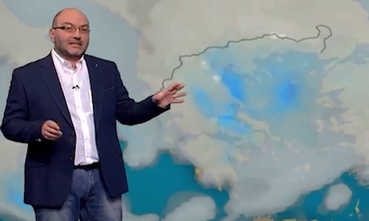 Καιρός: Πού θα βρέξει το τριήμερο της Καθαράς Δευτέρας; Η πρόγνωση του Σάκη Αρναούτογλου (video)