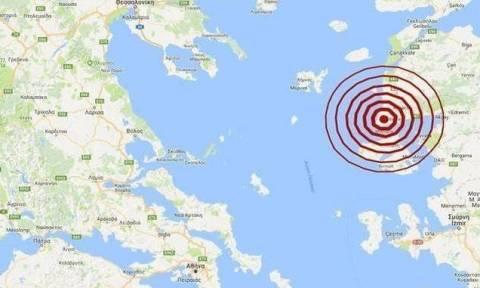На Лесбосе произошло землетрясение 4,5 балла