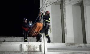 «Σεισμός» 5,9 Ρίχτερ στην Πάρνηθα: Δεκάδες εγκλωβισμένοι – Εντυπωσιακή άσκηση της Πυροσβεστικής