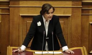 Μπακογιάννη: Να έρθει ο Τσακαλώτος στη Βουλή να πει τι έγινε στο Eurogroup