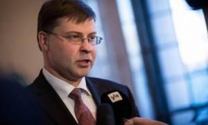 Ντομπρόβσκις: Συμφωνία για την Ελλάδα στο Eurogroup του Μαρτίου