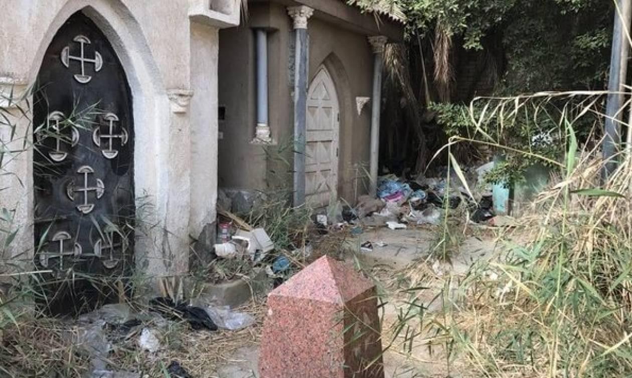 «Απαράδεκτη» η εικόνα που παρουσιάζουν τα Ελληνικά Κοιμητήρια στην Αίγυπτο