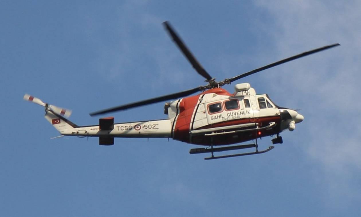 Επικίνδυνα παιχνίδια στα Ίμια: Ελικόπτερο της τουρκικής ακτοφυλακής πέταξε πάνω από τις βραχονησίδες