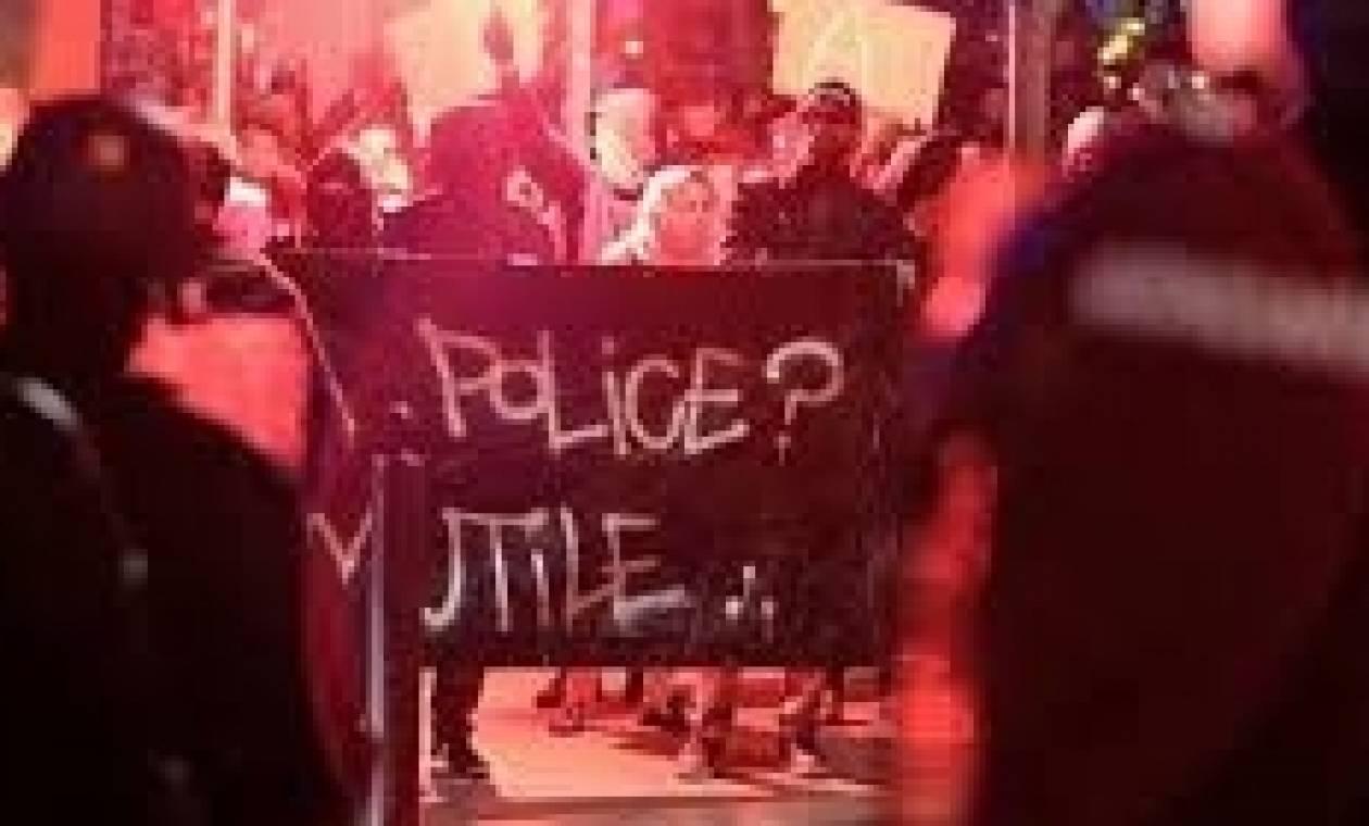 Γαλλία: Άγριες συγκρούσεις μαθητών με αστυνομικούς σε διαδήλωση κατά της αστυνομικής βίας