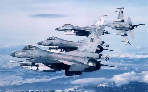 Έτσι αναχαιτίζουν οι Έλληνες πιλότοι τους Τούρκους (vid)