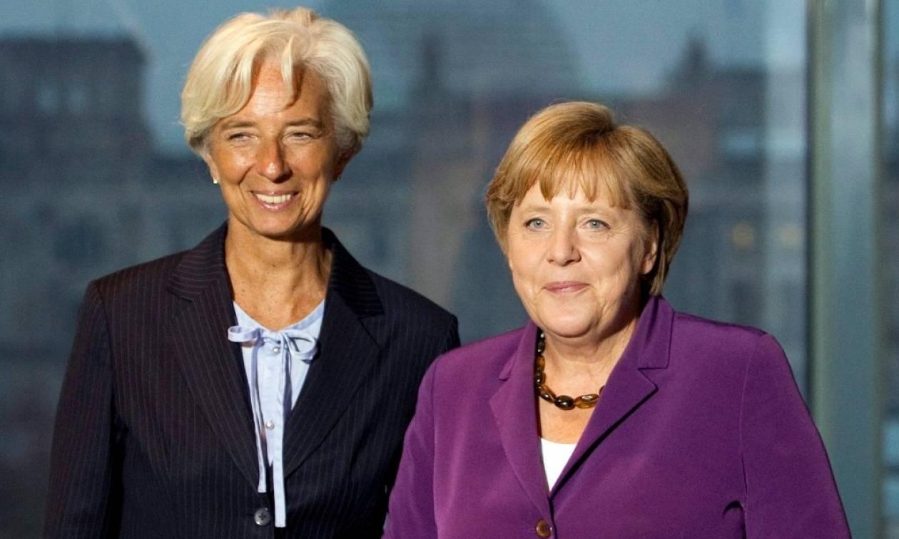 Handelsblatt: Λαγκάρντ-Μέρκελ αναζητούν λύση για να «πουλήσουν» σε Ουάσιγκτον και Βερολίνο