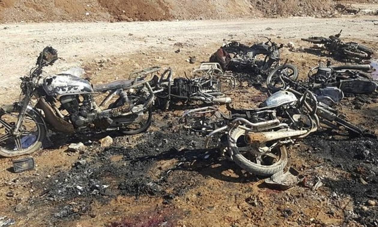 Συρία: Το Ισλαμικό Κράτος πίσω από την πολύνεκρη επίθεση αυτοκτονίας κοντά στην Αλ Μπαμπ