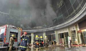 Πανικός στην Κίνα: Τουλάχιστον 10 νεκροί από φωτιά σε ξενοδοχείο (pics+vid)