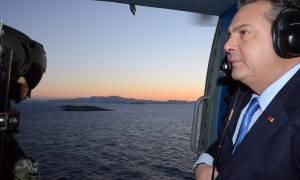 Καμμένος προς Τσαβούσογλου: Ας πατήσουν οι Τούρκοι το πόδι τους στα Ίμια να δούμε πως θα φύγουν