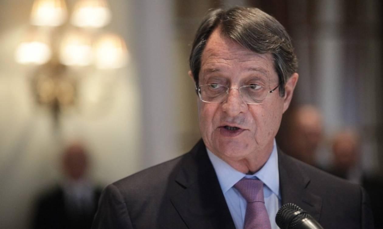 Αναστασιάδης για Κυπριακό: Τουρκική σκοπιμότητα η διακοπή των συνομιλιών