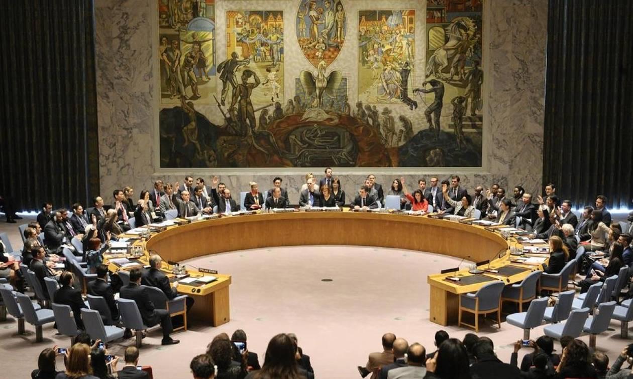 ΟΗΕ: Το Συμβούλιο Ασφαλείας θα ψηφίσει για την επιβολή κυρώσεων σε βάρος της Συρίας