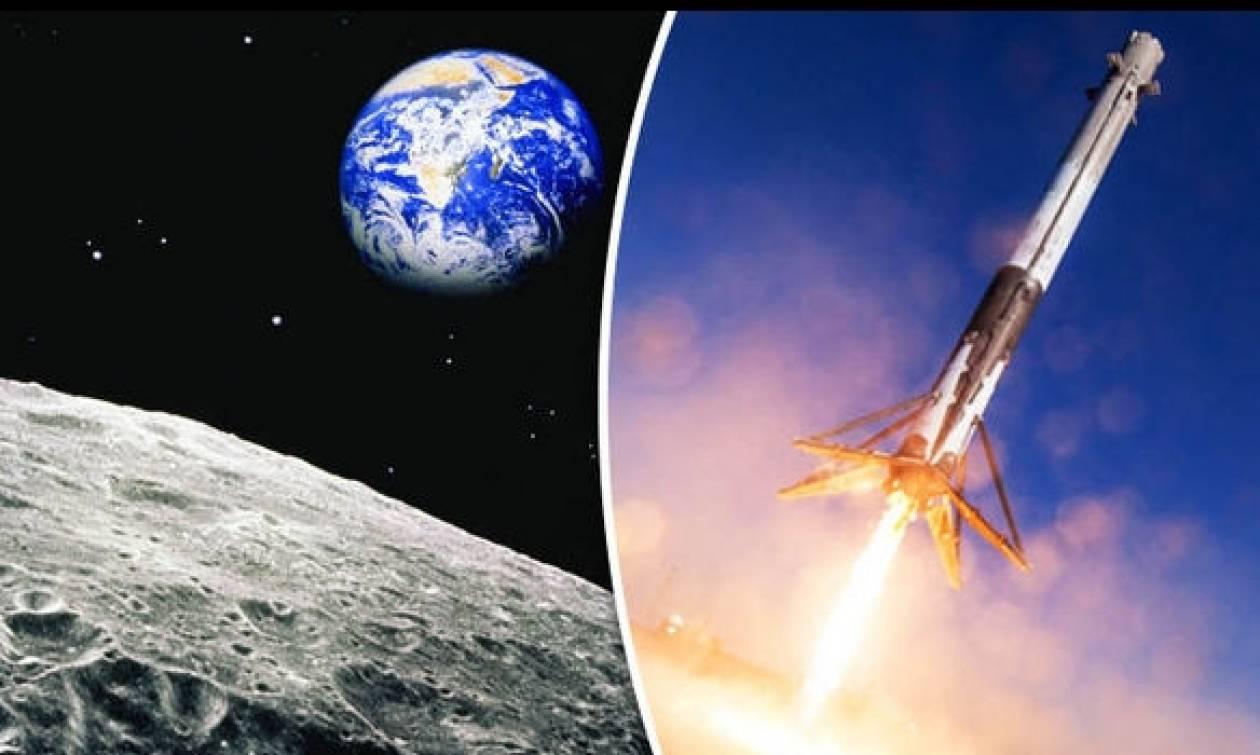 Βόλτα στο φεγγάρι θα κάνουν το 2018 δύο τυχεροί «τουρίστες»