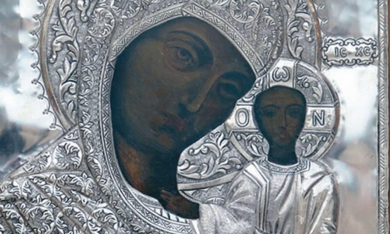 Στον Πειραιά η εικόνα της Παναγίας Κοσμοσώτειρας, προστάτιδας της Θράκης