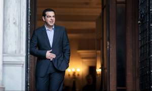 Στο Μαξίμου ο πρωθυπουργός της Μάλτας: Τι είπαν με τον Τσίπρα μπροστά στις κάμερες (vid)