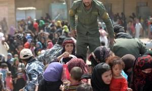 Ιράκ: Περίπου 26.000 άμαχοι έχουν εγκαταλείψει το δυτικό τμήμα της Μοσούλης σε διάστημα 10 ημερών