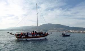 Ιστιοφόρο με 85 παράτυπους μετανάστες εντοπίστηκε νοτιοδυτικά της Πύλου