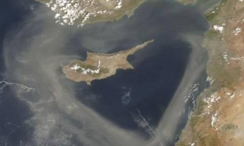 На Кипре бушует песчаная буря