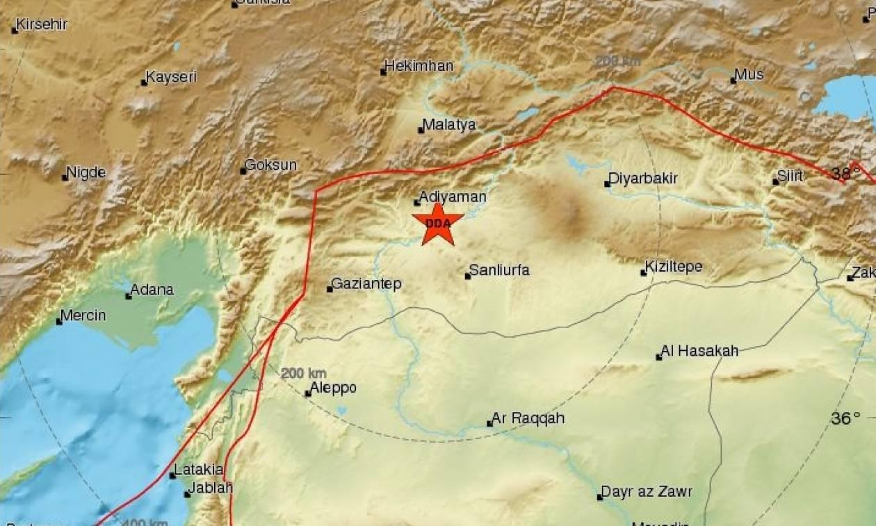 Νέος σεισμός 4,4 Ρίχτερ στην Τουρκία