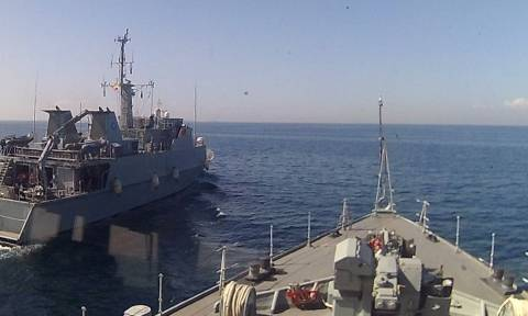 Συνεκπαίδευση του ΠΝ με μονάδες των Ναυτικών Δυνάμεων NΑΤΟ
