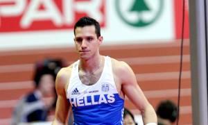 «Ασημένιος» στο Ευρωπαϊκό πρωτάθλημα κλειστού στίβου ο Φιλιππίδης