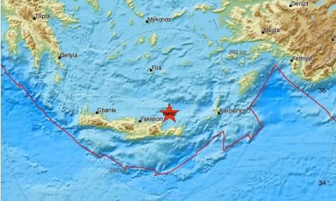 Ισχυρός σεισμός «χτύπησε» την Κρήτη