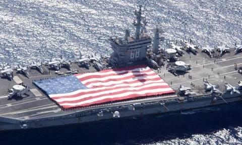 Ο Ντόναλντ Τραμπ θέλει να ενισχύσει τον στόλο του Πολεμικού Ναυτικού των ΗΠΑ
