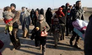 Μοσούλη: Τουλάχιστον 45.000 οι εκτοπισμένοι από τις μάχες