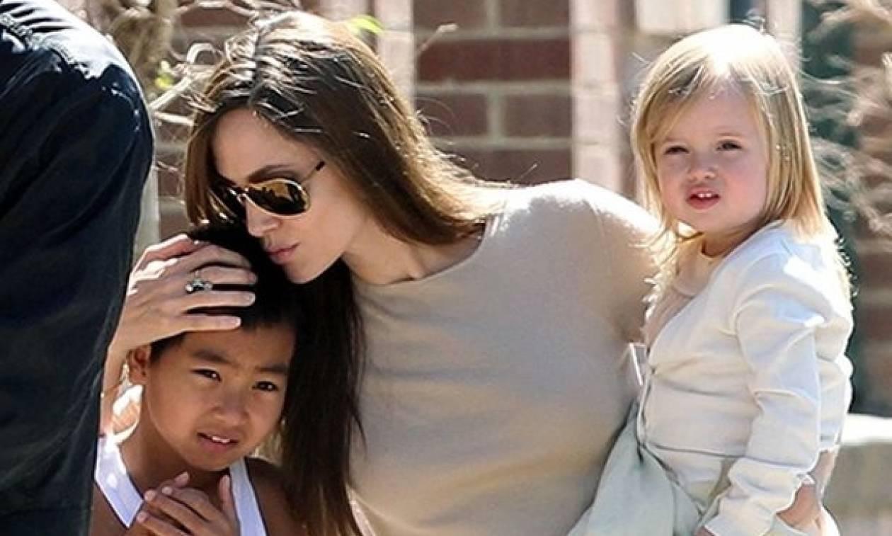 Το δημοσίευμα του περιοδικού «πρόδωσε» τον νέο έρωτα της Angelina Jolie