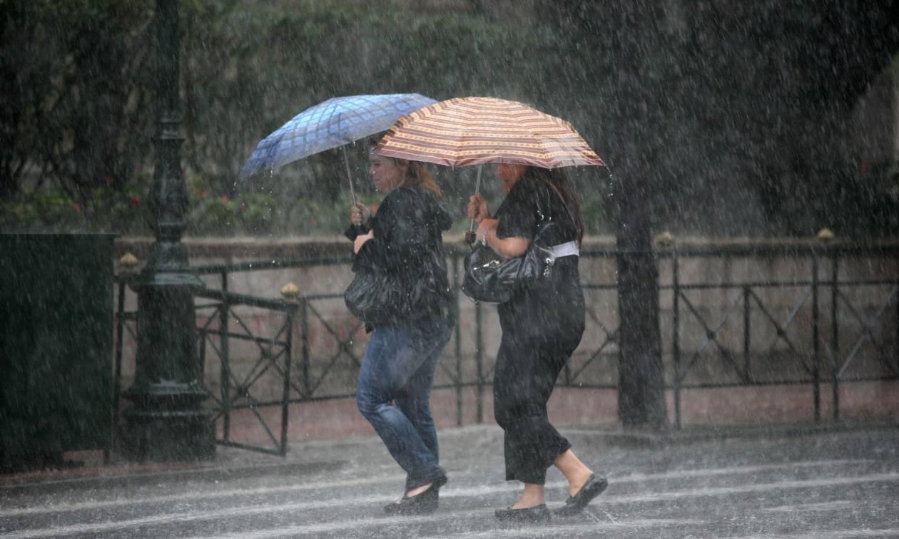 ΕΜΥ: Αλλάζει ο καιρός τη Δευτέρα (6/3) με βροχές και καταιγίδες - Αναλυτική πρόγνωση