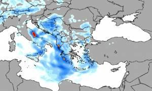Καιρός: Η «Γαλάτεια» κύκλωσε τη χώρα - Ισχυρές καταιγίδες και χαλάζι σαρώνουν τη χώρα