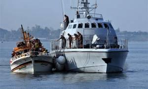 Σώοι οι 113 μετανάστες που εντοπίστηκαν δυτικά των Παξών