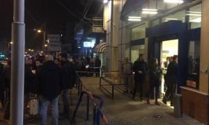 Ένοπλη ληστεία με ομηρία σε σούπερ μάρκετ στο Καματερό