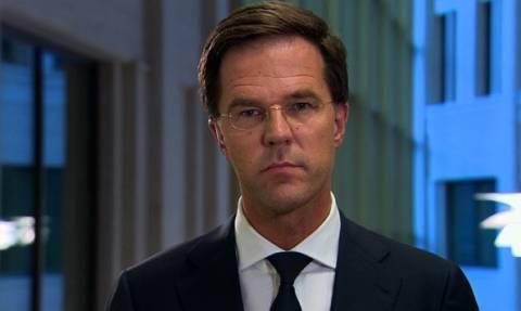 Ρούτε: Παρανοϊκή η απαίτηση Ερντογάν να ζητήσει η Ολλανδία συγγνώμη