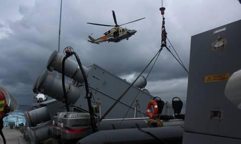 Πυραυλάκατος του ΠΝ στην άσκηση έρευνας-διάσωσης Ελλάδος-Κύπρου (pics)
