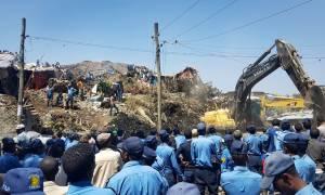 Αιθιοπία: Αυξάνεται δραματικά ο αριθμός των νεκρών από την κατολίσθηση σε χωματερή