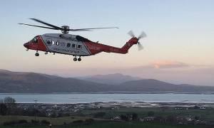 Συνετρίβη σωστικό ελικόπτερο στην Ιρλανδία – Αγνοείται το πλήρωμα
