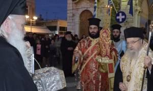 Υποδοχή Ιερού Λειψάνου Αγίου Λουκά της Κριμαίας στο Μεσολόγγι