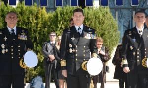 Πολεμικό Ναυτικό: Νέος διοικητής στη Σχολή Δοκίμων (pics)