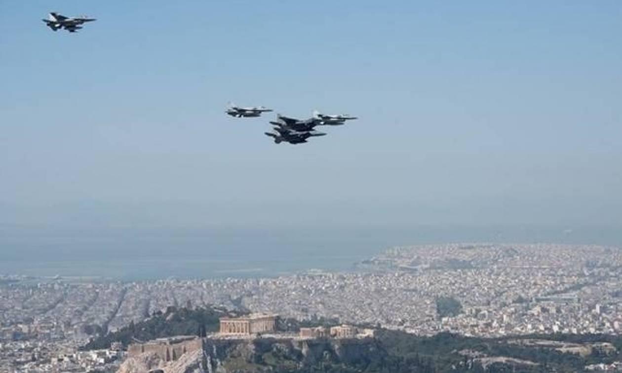 Μαχητικά αεροσκάφη πάνω από την Αθήνα: Τι συμβαίνει;