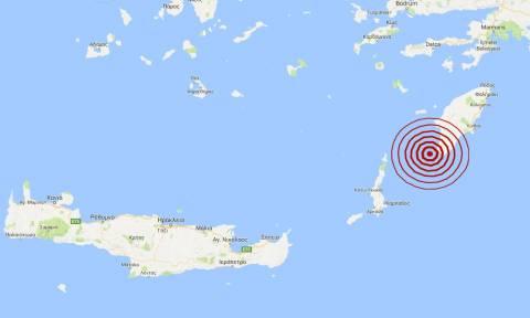 Σεισμός κοντά στη Ρόδο (pic)